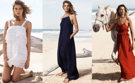 A New Face for Mango – Daria Werbowy Heads to the Beach